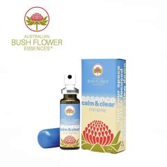 Australian Bush Flowers-Oral Spray - Calm & Clear 20ml