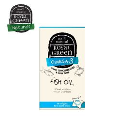 Royal Green Fish Oil 30 Softgels