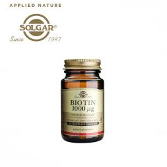 Solgar Biotin 1000 µg 50 Vegetable Capsules
