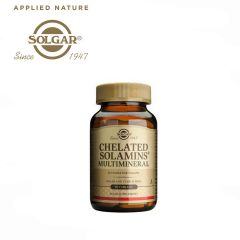 Solgar Chelated Solamins® Multimineral 90 Tablets