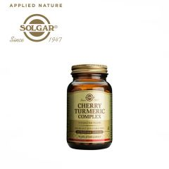 Solgar Cherry Turmeric Complex 60 Vegetable Capsules