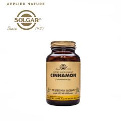 Solgar Cinnamon Vegetable 100 Capsules
