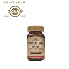Solgar Gentle Iron 20 mg 90 Vegetable Capsules