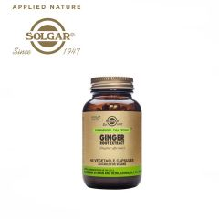 Solgar Ginger Root Extract 60 Vegetable Capsules