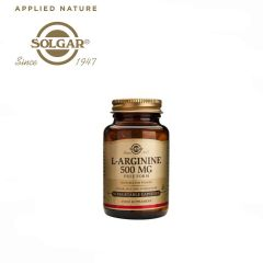 Solgar L-Arginine 500 mg 50 Vegetable Capsules