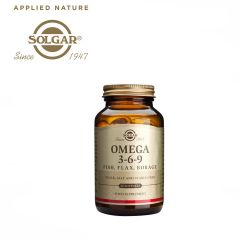 Solgar Omega 3-6-9 Fish, Flax, Borage 60 Softgels