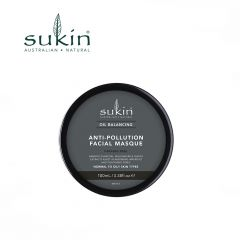 Sukin Oil Balancing + Charcoal Anti Pollution Facial Masque 100ml